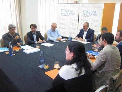 """CC, PP y Cs avanzan con """"voluntad"""" para cerrar un pacto que impulse la modernización del Cabildo de Tenerife"""