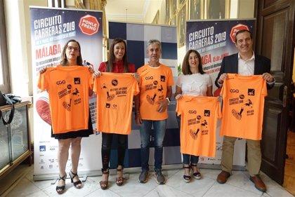 El Circuito de Carreras de Ponle Freno llega a Málaga en su tercera parada y la primera en edición nocturna