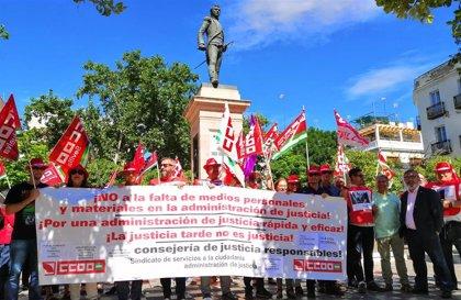 """Sindicatos lamentan la """"falta de efectivos"""" en los Juzgados de Violencia sobre la Mujer en la provincia de Sevilla"""