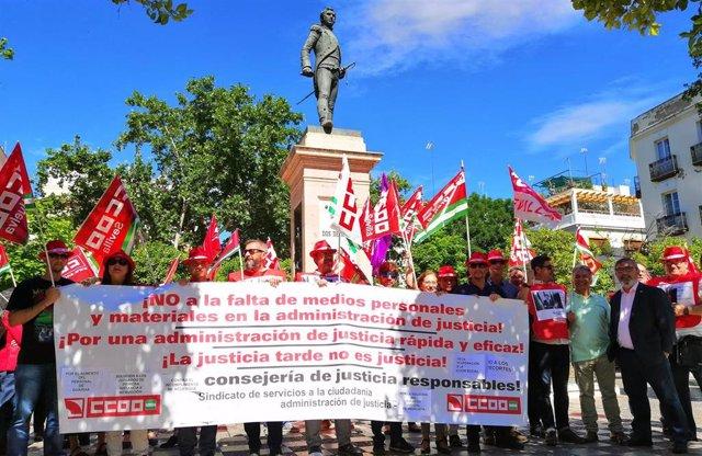 """Sevilla.- Sindicatos lamentan la """"falta de efectivos"""" en los Juzgados de Violencia sobre la Mujer en la provincia"""
