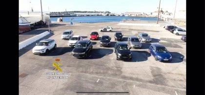 Detenidas 21 personas en el puerto de Tarifa (Cádiz) por presunto delito de receptación