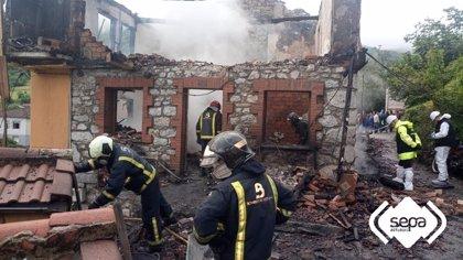 Un hombre muere en Asturias en un incendio en Laviana (Asturias)