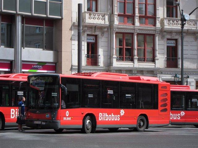 Bilbobus ofrece este domingo un servicio lanzadera por el partido de pelota que se disputa en el Frontón Bizkaia