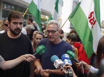 """SAT defiende que ejerció """"pacíficamente"""" su derecho a huelga en el piquete informativo en Sevilla en 2008"""