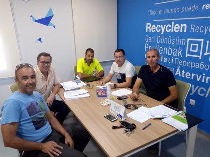 Concluye el conflicto de la planta de reciclaje de la Mancomunidad Campiña 2000 con la firma del nuevo convenio