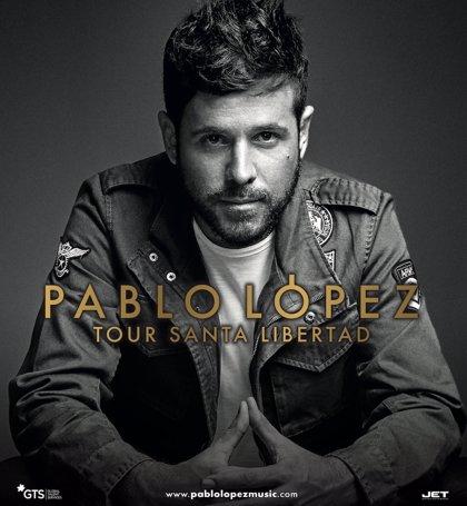 Pablo López actuará en septiembre en el Palacio de Deportes de Granada