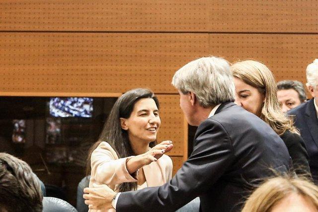 Sessió Constitutiva de la XI Legislatura de l'Assemblea de Madrid