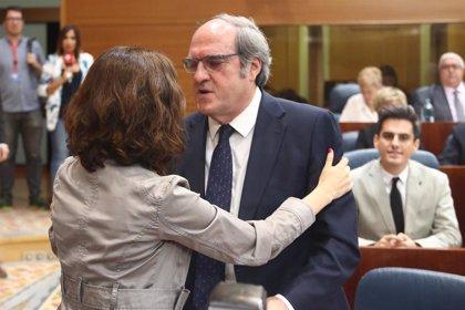 """PSOE apoyará """"cualquier acción"""" que muestre la """"disconformidad"""" de Más Madrid con la proporcionalidad de la Mesa"""