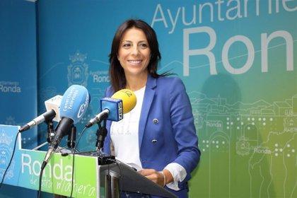 PP, APR y Cs ultiman el pacto de gobierno en Ronda que dará la Alcaldía a la 'popular' María Paz Fernández