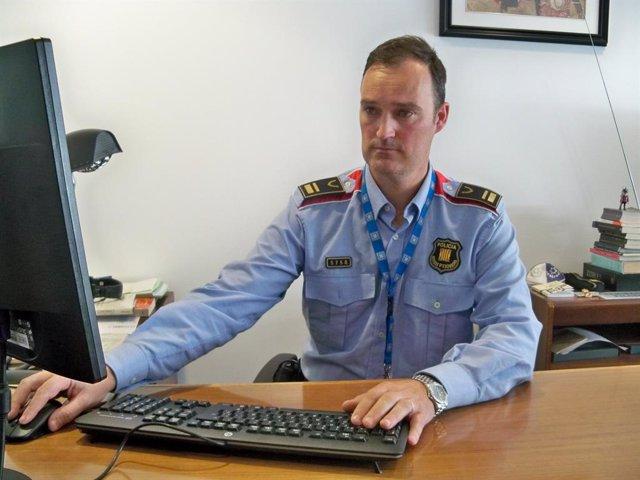 L'intendent de Mossos d'Esquadra Eduard Sallent