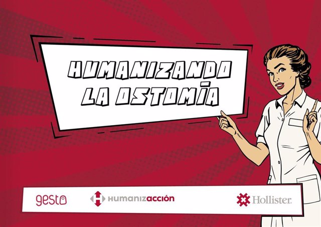 Tres enfermeras de Cantabria protagonizan un cómic que humaniza la atención sanitaria en ostomía