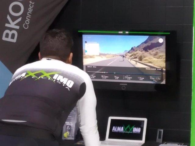 El Cabildo de Tenerife promociona rutas ciclistas en la isla a través del simulador 'Bkool'