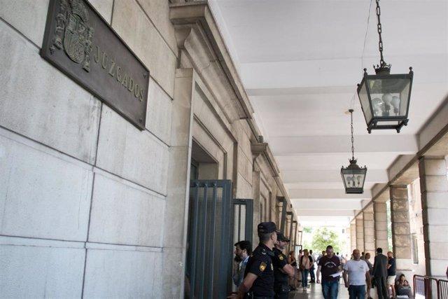 Sevilla.-Sucesos.-A prisión el presunto causante del accidente mortal de Espartinas que dio positivo en drogas y alcohol