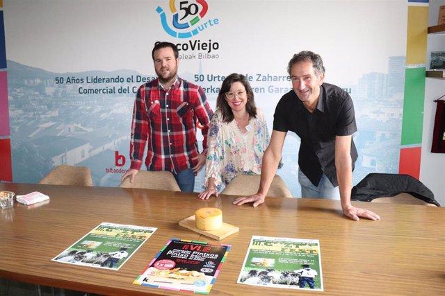 El Casco Viejo de Bilbao celebra hasta el 23 de junio su III Gazta Fest, el festival en torno al queso Idiazabal