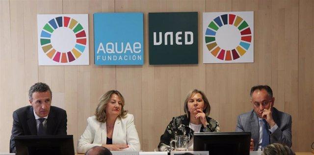 Aquae y la UNED lanzan un protocolo medioambiental para reducir el consumo de agua y energía en universidades españolas