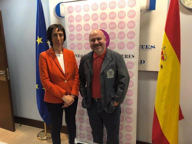 Concha Díaz releva a Luis Cayo Pérez Bueno en la presidencia de la Fundación CERMI Mujeres