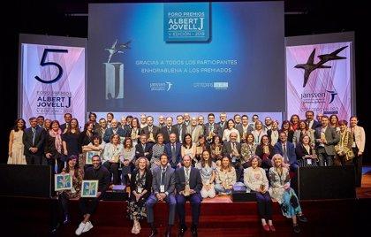 El Foro Premios Albert Jovell reconoce a 23 proyectos y personalidades, de entre las 333 candidaturas aceptadas