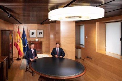 Ciudadanos reitera a Sánchez que no apoyará su investidura