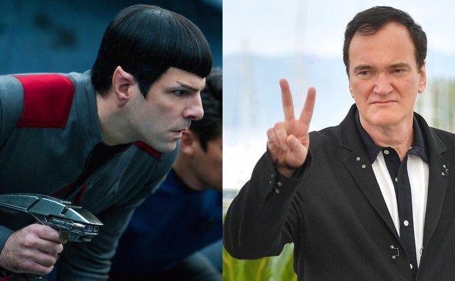 Quentin Tarantino confirma que su Stark Trek ya tiene guión y será para mayores de 18 años