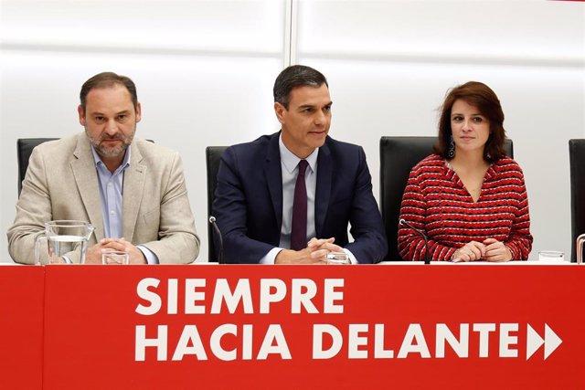 AMP.- La dirección del PSOE ratifica a Adriana Lastra y a Ander Gil como portavoces en Congreso y Senado