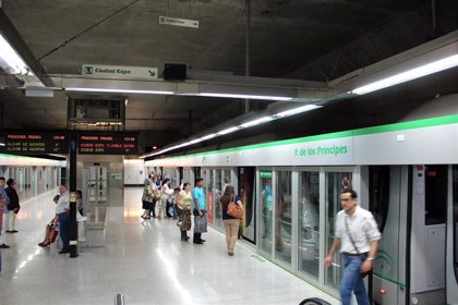 El metro de Sevilla experimenta en abril la mayor caída de pasajeros de España, con un 19,3% menos respecto a 2018
