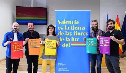 El pasodoble 'València' marca el ritmo de la manifestación del Orgullo 2019 en el cap i casal
