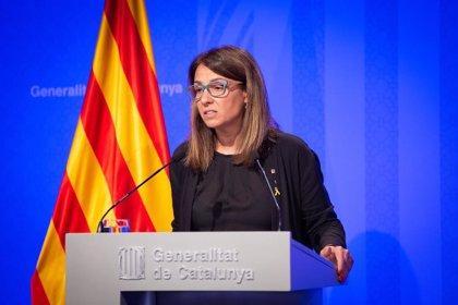 Polémica en la rueda de prensa del Govern por las preguntas en castellano