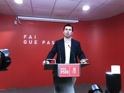 El PSdeG insta a Feijóo a mandar su carta sobre la lista más votada a Casado para que facilite la investidura de Sánchez