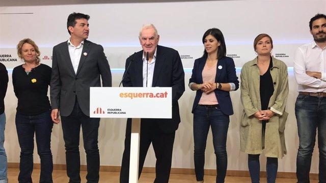 AMP.- Maragall proposa reunir-se amb Colau i Collboni per evidenciar dificultats d'un tripartit a Barcelona