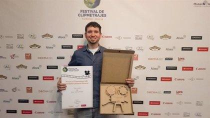 El realizador jienense Mario García Prados, gana el premio del público del Festival de Manos Unidas 2019