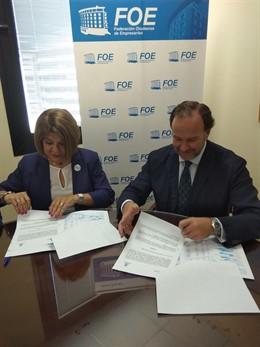 Huelva.- La FOE se convierte en entidad colaboradora para prevención del Alzheimer y otras demencias