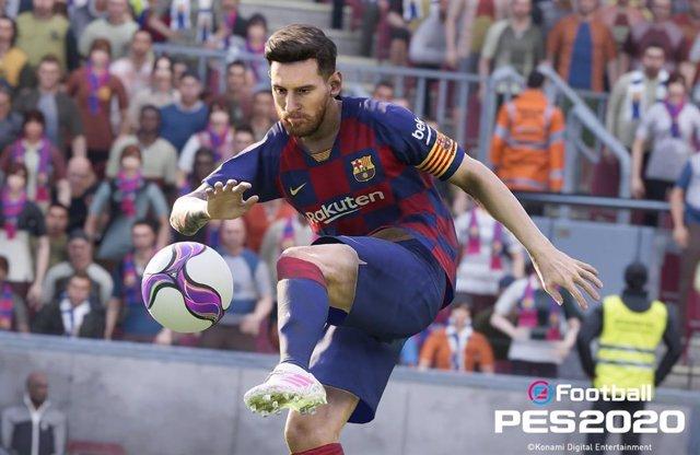 Konami lanzará eFootball PES 2020 el 10 de spetiembre