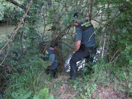 Hallan con vida en el Río Tea a una sexagenaria desaparecida en Ponteareas (Pontevedra)