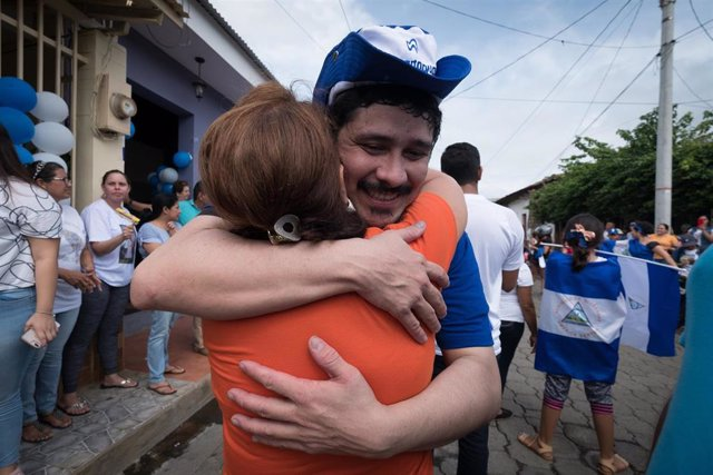 Political prisoners release in Nicaragua
