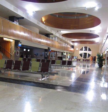 El aeropuerto de Logroño-Agoncillo crece un 5,8 por ciento en el mes de mayo