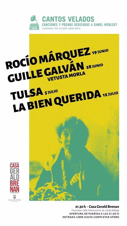 La Casa Gerald Brenan presenta en Málaga el ciclo de poesía y música entorno a Gamel Woolsey