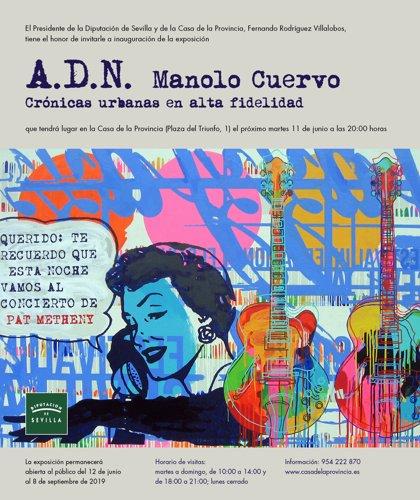 """Iconografía """"ochentera"""" y estética pop en una muestra con 75 obras del pintor y diseñador Manolo Cuervo"""