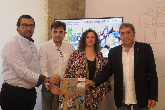 Jaén.- MásJaén.- Grupos de Benín, Hungría e India conforman el cartel del XXXIII Folk del Mundo