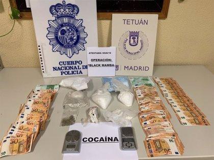 Siete detenidos y casi un kilo de cocaína requisada en varios pisos de Moncloa