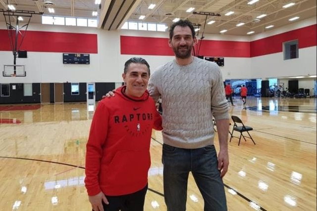 Baloncesto.- Garbajosa y Scariolo se reúnen en Toronto para planificar el camino de España al Mundial