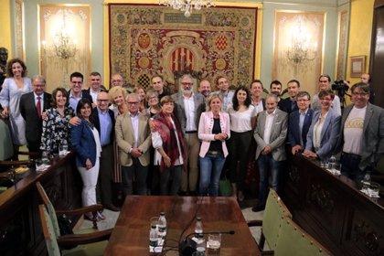 """Larrosa demana que la nova Paeria governi """"per a tots els lleidatans"""" en el seu comiat com alcalde de Lleida"""