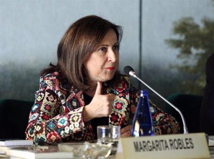 """Robles, sobre aumento de tropas en Rota: """"No se modificará nada sin autorización del Parlamento"""""""