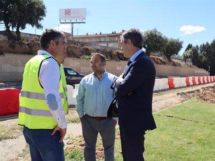 Las obras del segundo acceso al Hospital de Guadalajara podrían estar finalizadas en agosto