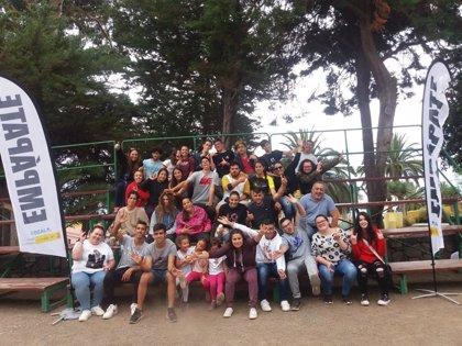 Más de 100 jóvenes participan en Tenerife en el programa 'Empápate' de prevención de drogas