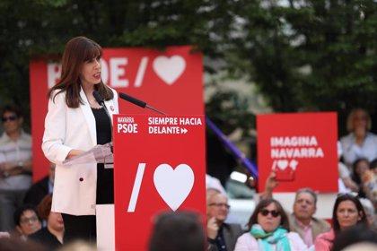 PSN ratifica su postura de optar a la alcaldía de Pamplona, Bildu le pide sus votos y Navarra Suma que no se presente