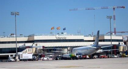 El aeropuerto de Valencia recibe un 9,6% más de pasajeros en mayo y el de Alicante, un 7,2% más