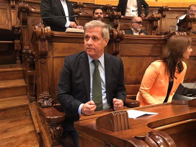 Alberto Fernández (PP) deixa l'Ajuntament expressant agraïments i recordant a Forn