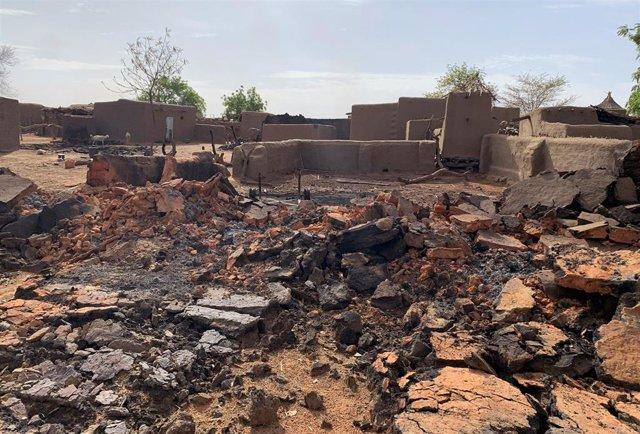 Malí.- El Gobierno de Malí rebaja a 35 los fallecidos en el ataque a una localidad dogon