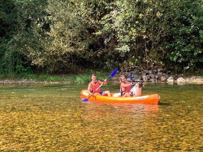Disfruta del Sella propone el descenso del río Sella como plan recomendado para este verano
