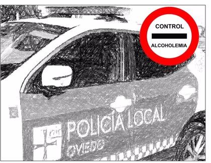 Siete conductores denunciados en la ciudad por exceso de alcohol en la semana del 3 al 9 de junio